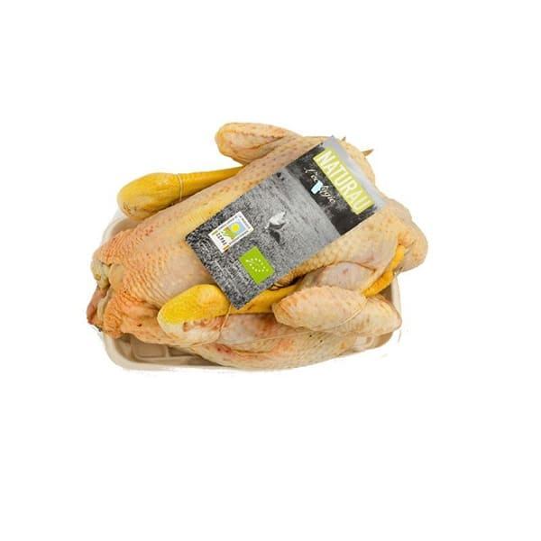 Pollo entero troceado en cuartos 3kg ECO