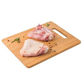Contramuslos de pollo c/hueso 350g