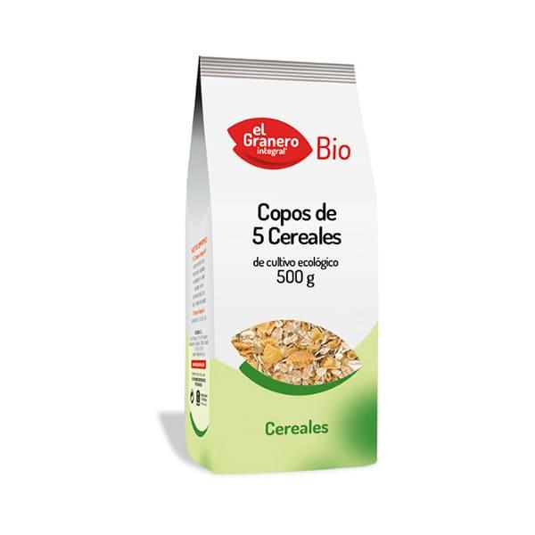 Copos 5 cereales 500g ECO