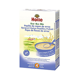 Papillas arroz Holle ECO