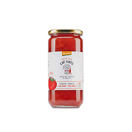 Tomate entero pelado 660g ECO