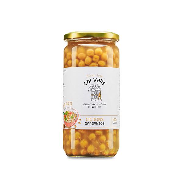 Garbanzos cocidos 450g ECO