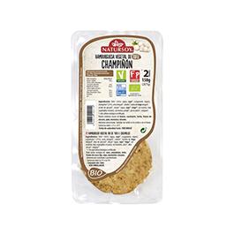 Hamburguesa de tofu y champiñons 2u