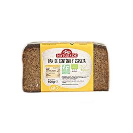 Pan de centeno y espelta 500g ECO