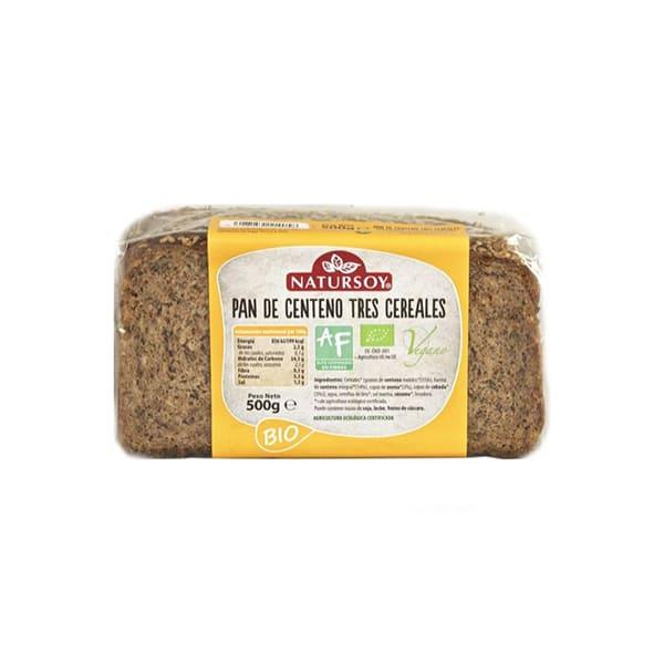 Pan de 3 cereales 500g ECO