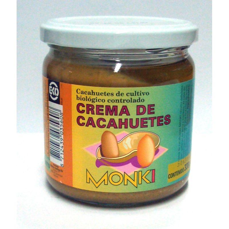 Crema de cacahuetes 330g ECO