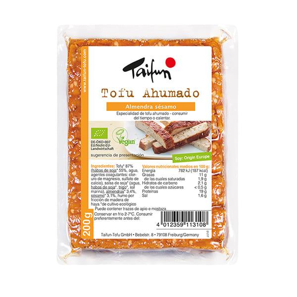 Tofu fumat amb ametlles i sèsam 200g ECO