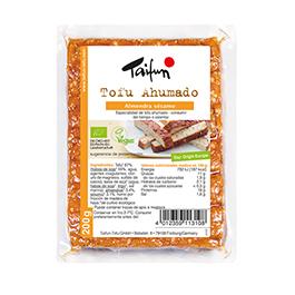 Tofu ahumado con almendras y sésamo 200g
