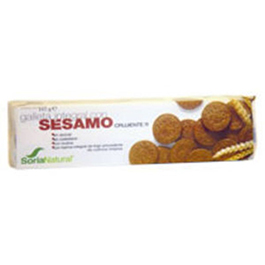 Galletas integrales de sésamo 165g
