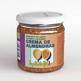 Crema De Almendras Monki 330 Gr. Eco