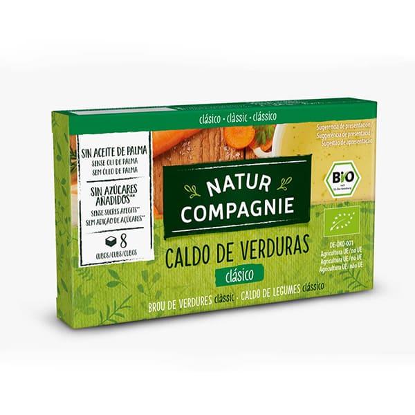 Caldo Verduras 8x10g ECO