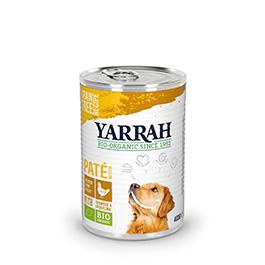 Menjar per a gossos en llauna 400g