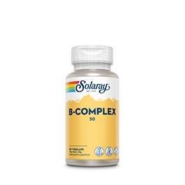 B Complex Solaray 50 cap.