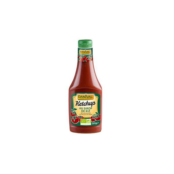 Ketchup con melaza de arroz ECO