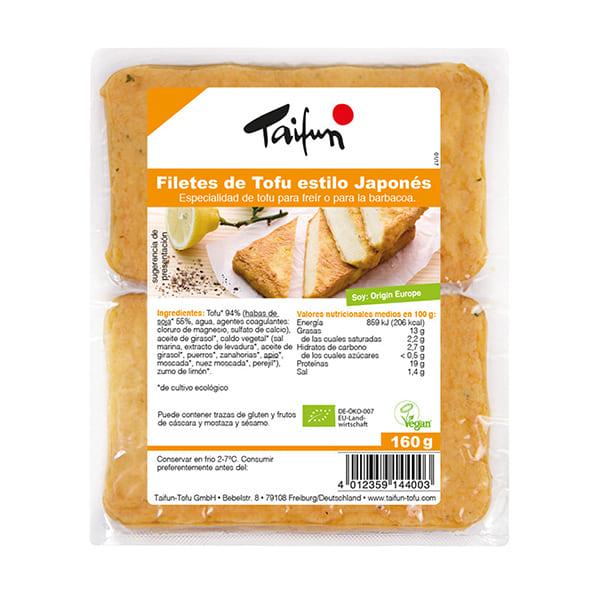 Filetes de tofu japonés 160g ECO