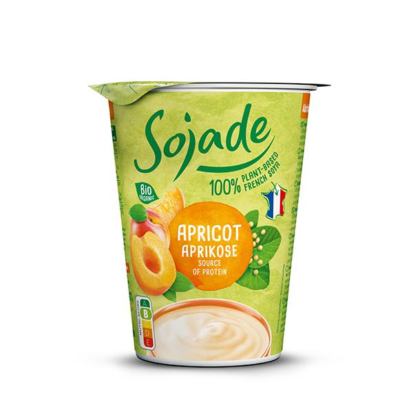 Postre de soja con albaricoque 400g ECO