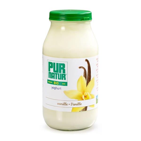 Yogurt de vainilla 500g ECO
