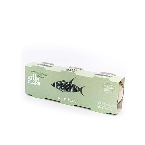 Atún en aceite de oliva 3x52g ECO