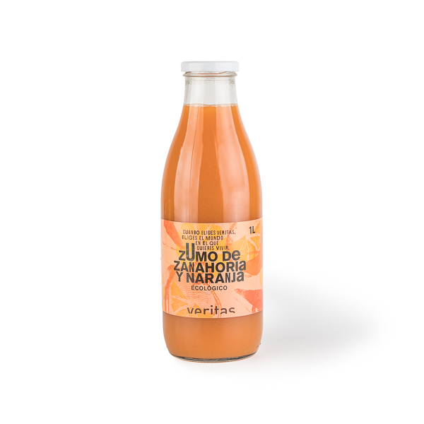 Suc de pastanaga y taronja 1l ECO