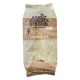 Arroz integral redondo 1kg ECO