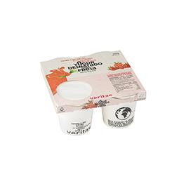 Iogurt desnatat amb maduixa 4x125g