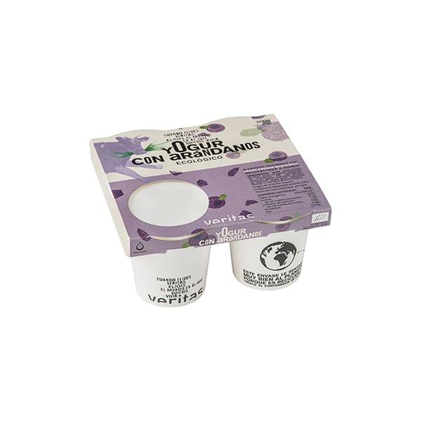 Yogurt con arándanos 4x125g ECO
