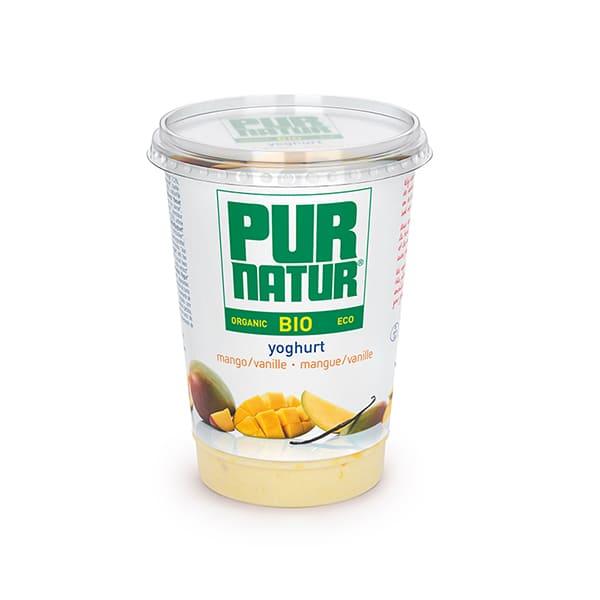Yogur con mango y vainilla ECO
