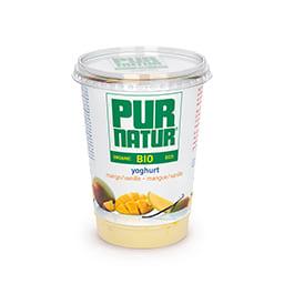 Yogur c/mango y vainilla Pur Natur 500ml ECO