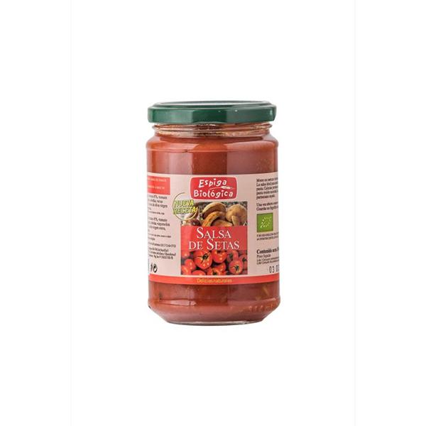 Salsa de tomate con setas 300g ECO