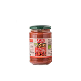 Salsa de tomate con setas 300g