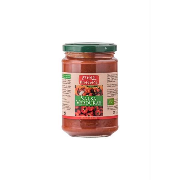 Salsa de tomate con verduras ECO