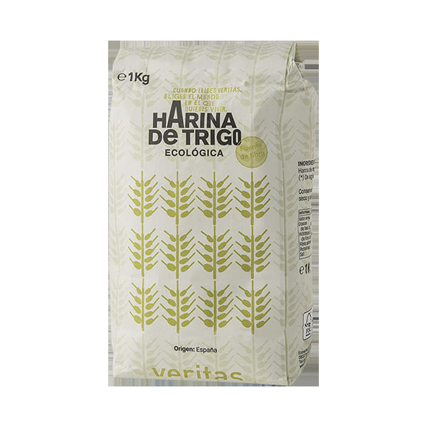 Harina de trigo 1kg ECO