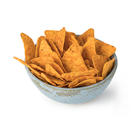 Nachos con paprika 125g ECO
