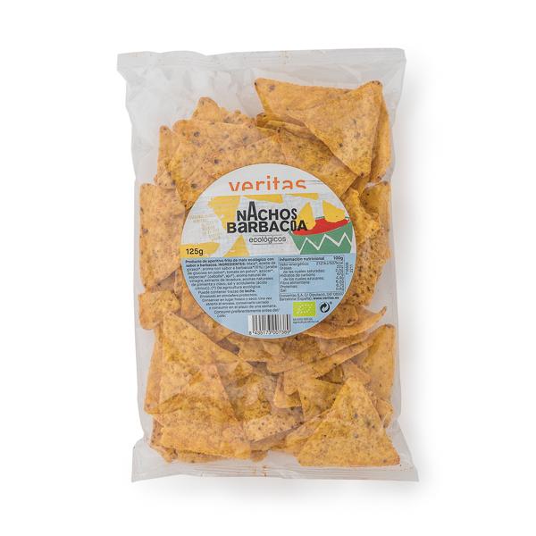 Nachos barbacoa 125g ECO