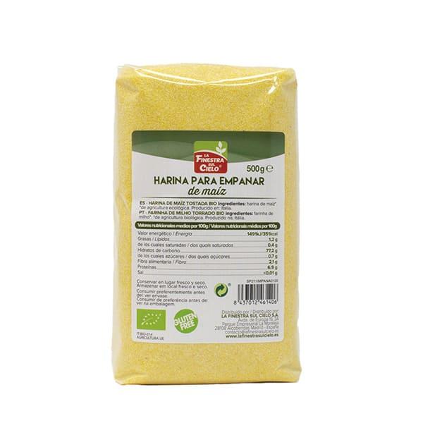 Pan rallado de maíz 500g ECO
