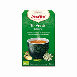 Té Verde Energía Yogi Tea 17B
