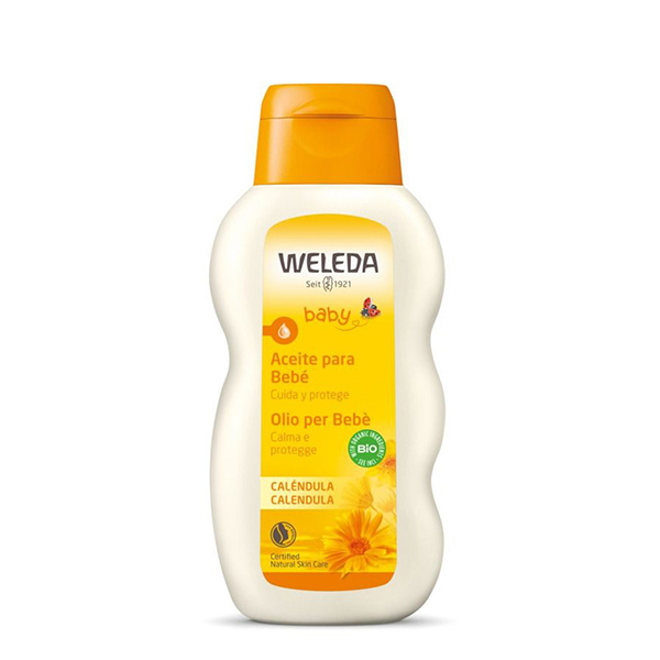Aceite de caléndula para bebés 200ml