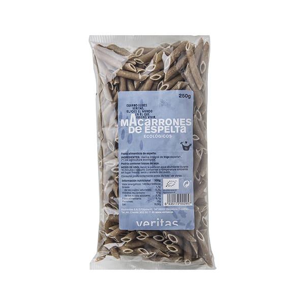 Macarrones de espelta 250g ECO