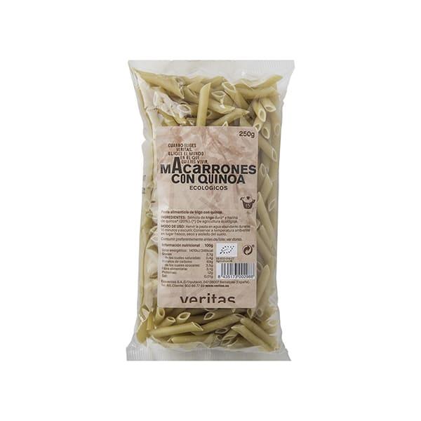 Macarrones con quinoa 250g ECO
