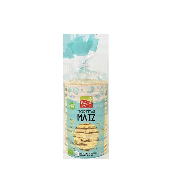 Tortitas maíz con sal 120g ECO