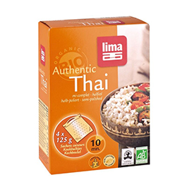 Arroz thai semi integral 4x125g
