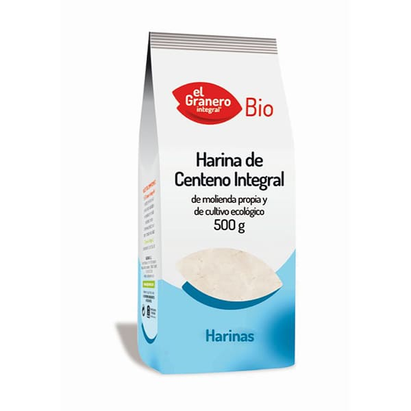 Harina integal de centeno 500g ECO