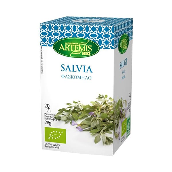 Infusión de salvia 20b ECO