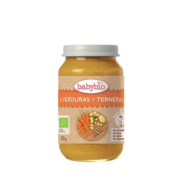 Puré Verduras/Jamón 200g ECO