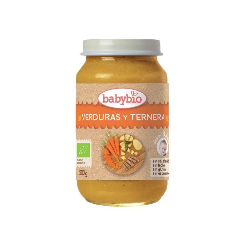 Puré Verduras/Ternera 200g ECO