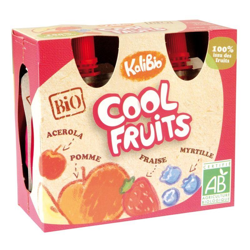 Puré de manzana, fresa y arándanos 4x90g ECO