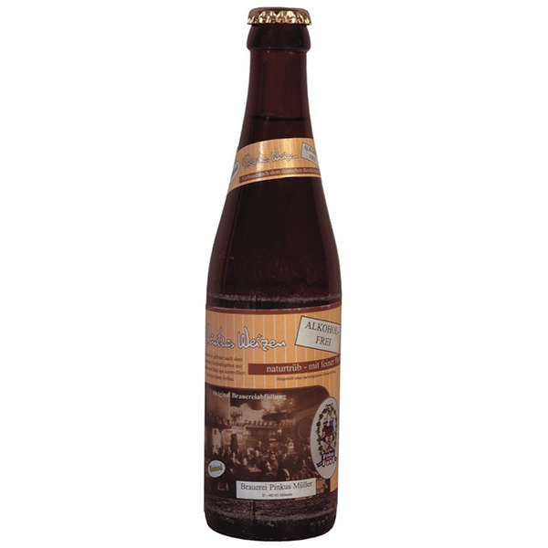 Cerveza de trigo sin alcohol 33cl ECO