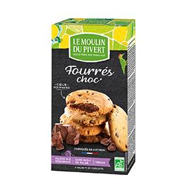 Cookies rellenas de chocolate ECO