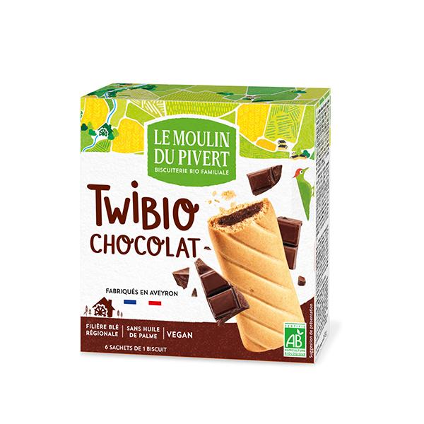 Twibio relleno chocolate 150g ECO
