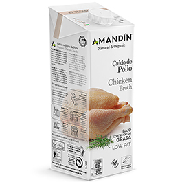 Caldo de pollo 1l